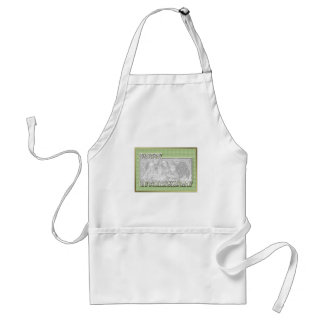 ADD YOUR PHOTO St Pats Cut Out Frame - Gingham Aprons