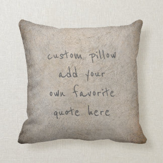 add your quote pillow distressed gray home decor