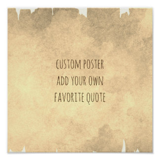 add your quote watercolor paint poster wall art