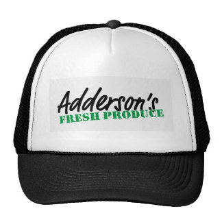 Adderson's Fresh Produce Trucker Hat