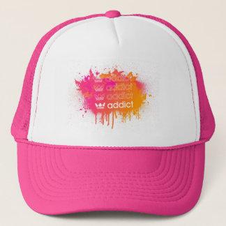 addict 2008 parody sparypaint hat