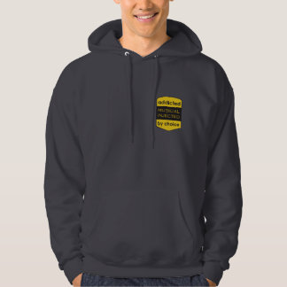 addicted - le musical injected - by choice sweat à capuche