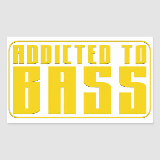 Addicted to Bass Sticker