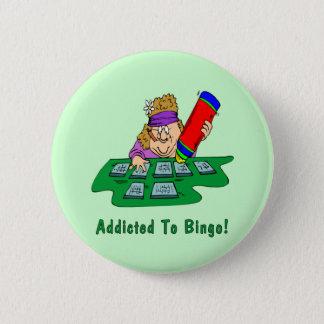 Addicted To Bingo! 2 Inch Round Button