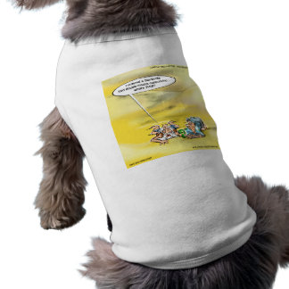 Addicted To Coffee By Londons Times Cartoons Pet T Shirt