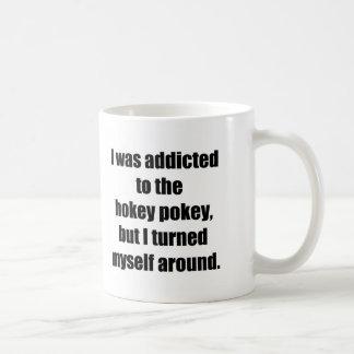 Addicted to Hokey Pokey Basic White Mug