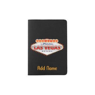 Addicted to Las Vegas, Nevada Funny Sign Passport Holder