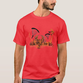 Addicted To Life - Sky Diving T-Shirt