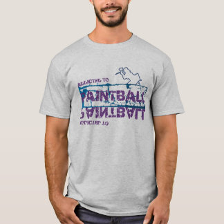 Addicted to Paintball T-Shirt