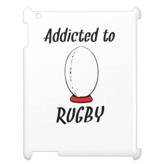 Addicted To Rugby Case For The iPad 2 3 4