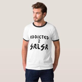 Addicted to salsa tshirt