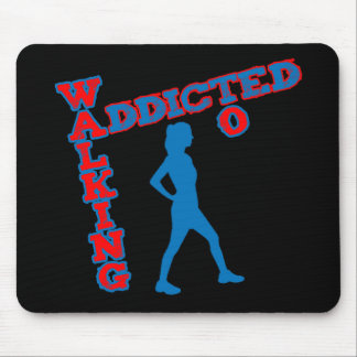 Addicted To Walking Mouse Pad
