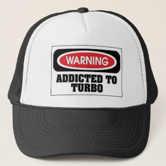 Addicted Turbo Trucker Hat