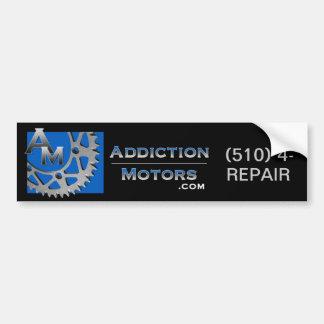Addiction Motors Bumper Sticker