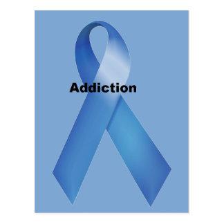 Addiction Postcard