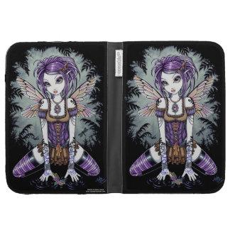Addison Gothic Dragonfly Fairy KIndle Case