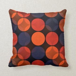 Addison Intersecting Polka Dots Throw Pillow