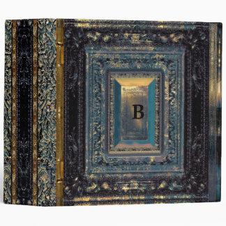 Addison Kilt II Monogram Vinyl Binder