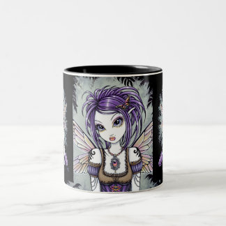 """Addison"" Misty Dragonfly Fairy Mug"