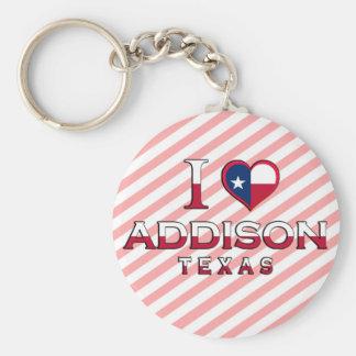 Addison, Texas Keychain
