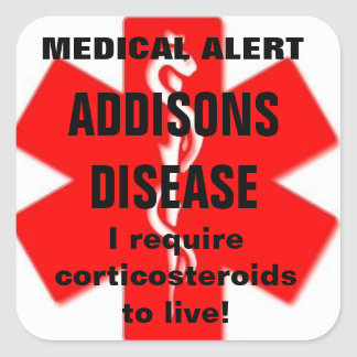 Addisons disease stickers