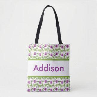 Addison's Personalized Tote