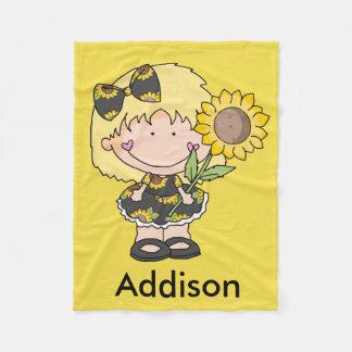 Addison's Sunflower Blanket
