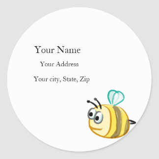 Address Label - Eager Bee