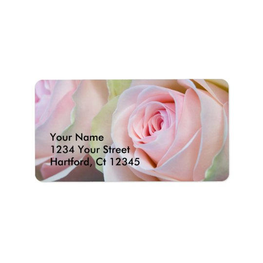 Address Label Roses