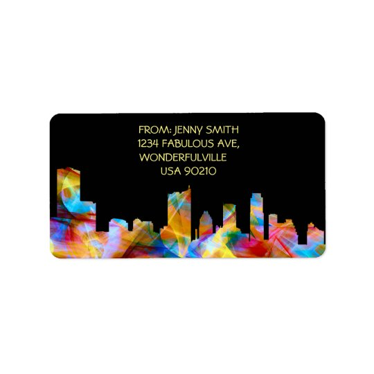 - Address labels