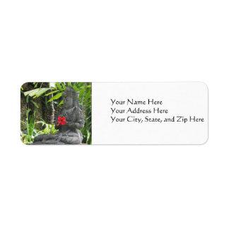 Address Labels:  Bali Stature