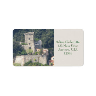 Address Labels--Lerici Castle Label