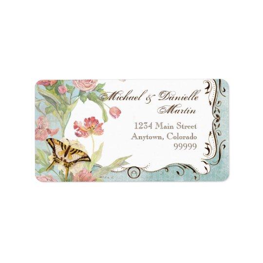 Address Labels - Les Fleur Pavoine - Wedding