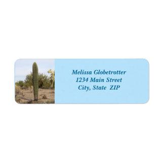Address Labels--No Arm Saguaro