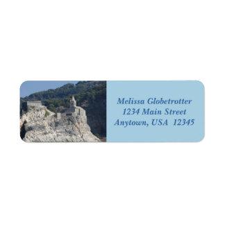 Address Labels--Rock Island Church Return Address Label