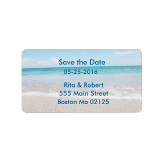 Address Labels Save the Date