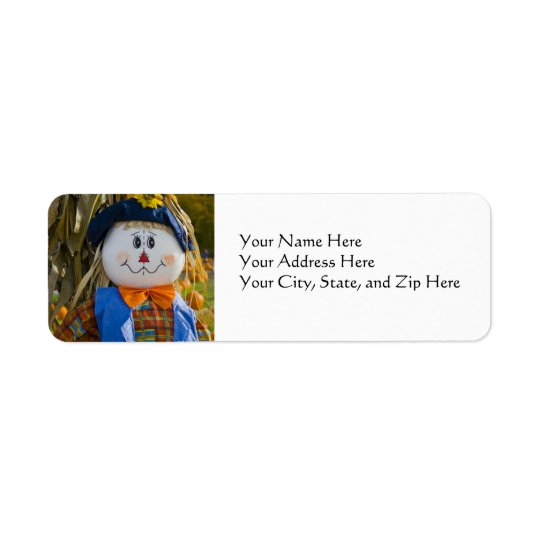 Address Labels:  Scarecrow