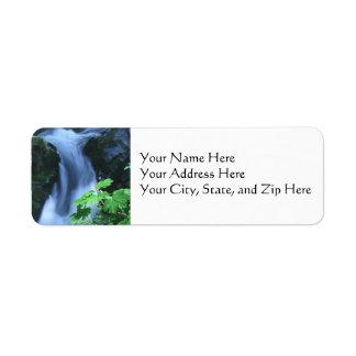Address Labels:  Sol Duc Falls