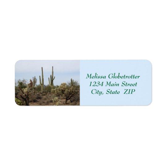 Address Labels--Various Cacti