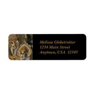 Address Labels--Venetian Masks
