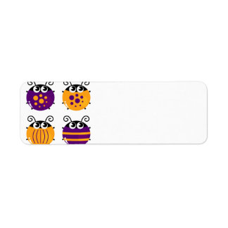 ADDRESS LABELS WITH HANDDRAWN BEES