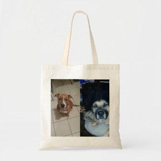 Addy and Obi Tote Bag