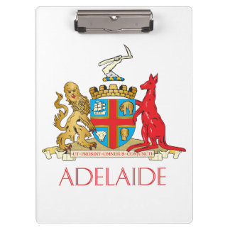 Adelaide coat of arms clipboards