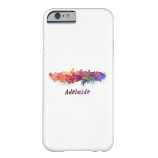 Adelaide skyline in watercolor barely there iPhone 6 case
