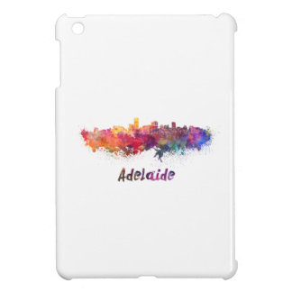 Adelaide skyline in watercolor cover for the iPad mini