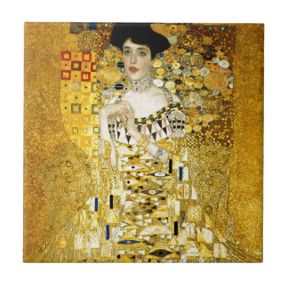 Adele Bloch-Bauer I by Gustav Klimt Art Nouveau Tile