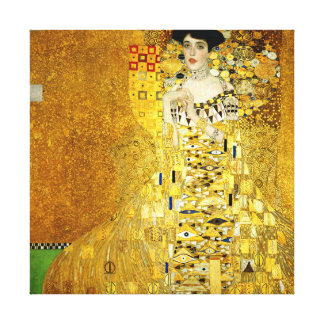 Adele Bloch-Bauer I by Gustav Klimt Canvas Print