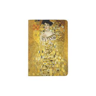 Adele Bloch-Bauer I by Gustav Klimt Passport Holder