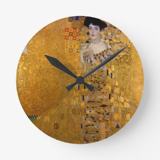 Adele Bloch-Bauer's Portrait by Gustav Klimt 1907 Clocks