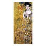Adele Bloch-Bauer's Portrait  by Gustav Klimt Custom Rack Cards